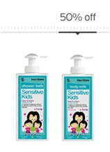 Sensitive Kids Everyday Bath Routine